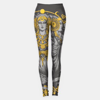 Thumbnail image of IBERIAN HECATE grey Leggings, Live Heroes