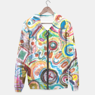Thumbnail image of Abstract Art Design  Hoodie, Live Heroes