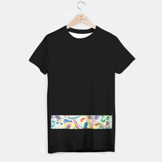Thumbnail image of Abstract Art Design  T-shirt, Live Heroes