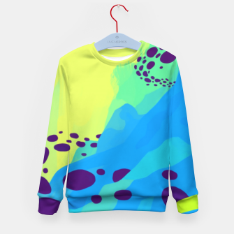 Thumbnail image of World Mountain Kid's Sweater, Live Heroes