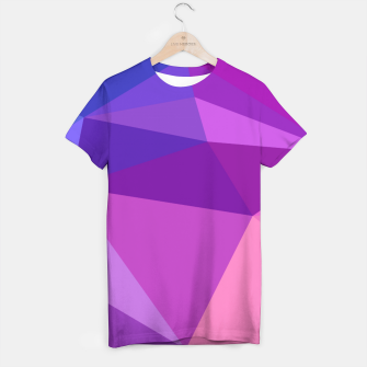Thumbnail image of geometric BGs05 T-shirt, Live Heroes