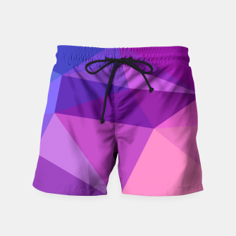 Thumbnail image of geometric BGs05 Swim Shorts, Live Heroes