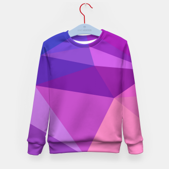 Thumbnail image of geometric BGs05 Kid's Sweater, Live Heroes