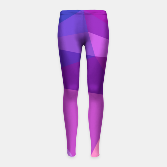 geometric BGs05 Girl's Leggings thumbnail image