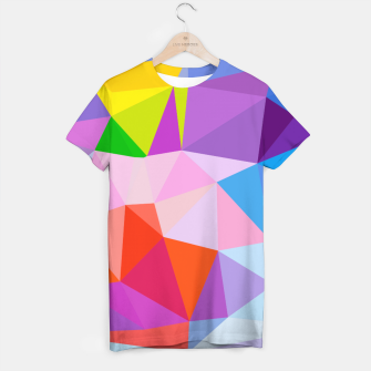 Thumbnail image of Geometric BGs08 T-shirt, Live Heroes