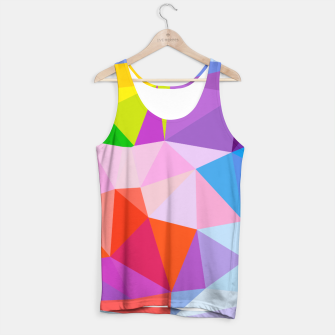 Thumbnail image of Geometric BGs08 Tank Top, Live Heroes