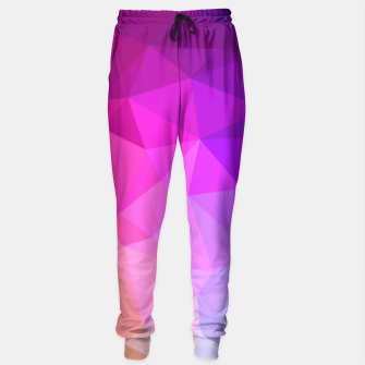 Thumbnail image of geometric BGs05 Sweatpants, Live Heroes