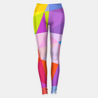 Geometric BGs08 Leggings thumbnail image