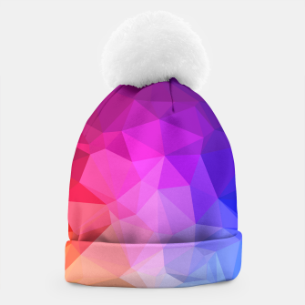 Thumbnail image of geometric BGs05 Beanie, Live Heroes