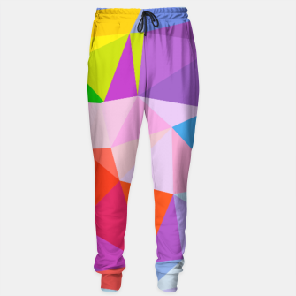Thumbnail image of Geometric BGs08 Sweatpants, Live Heroes