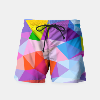 Thumbnail image of Geometric BGs08 Swim Shorts, Live Heroes