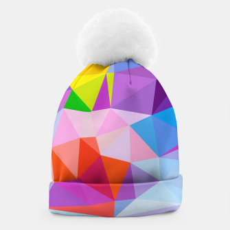 Thumbnail image of Geometric BGs08 Beanie, Live Heroes