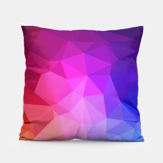 Thumbnail image of geometric BGs05 Pillow, Live Heroes