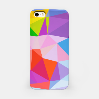 Thumbnail image of Geometric BGs08 iPhone Case, Live Heroes
