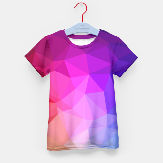 Thumbnail image of geometric BGs05 Kid's T-shirt, Live Heroes