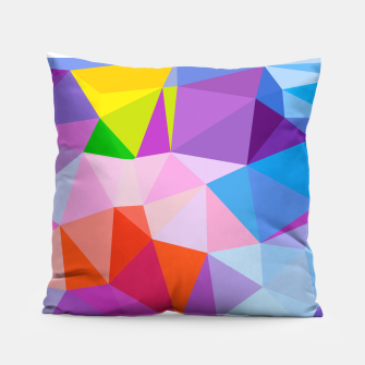 Thumbnail image of Geometric BGs08 Pillow, Live Heroes