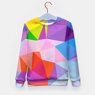 Thumbnail image of Geometric BGs08 Kid's Sweater, Live Heroes