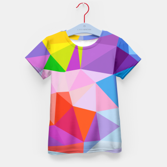 Geometric BGs08 Kid's T-shirt thumbnail image