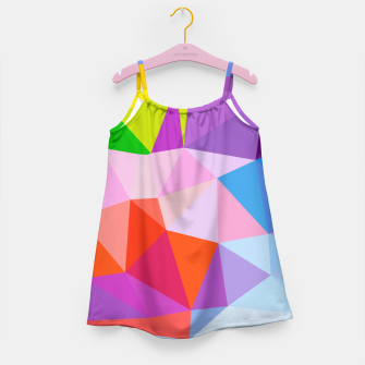 Geometric BGs08 Girl's Dress thumbnail image