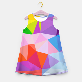 Geometric BGs08 Girl's Summer Dress thumbnail image