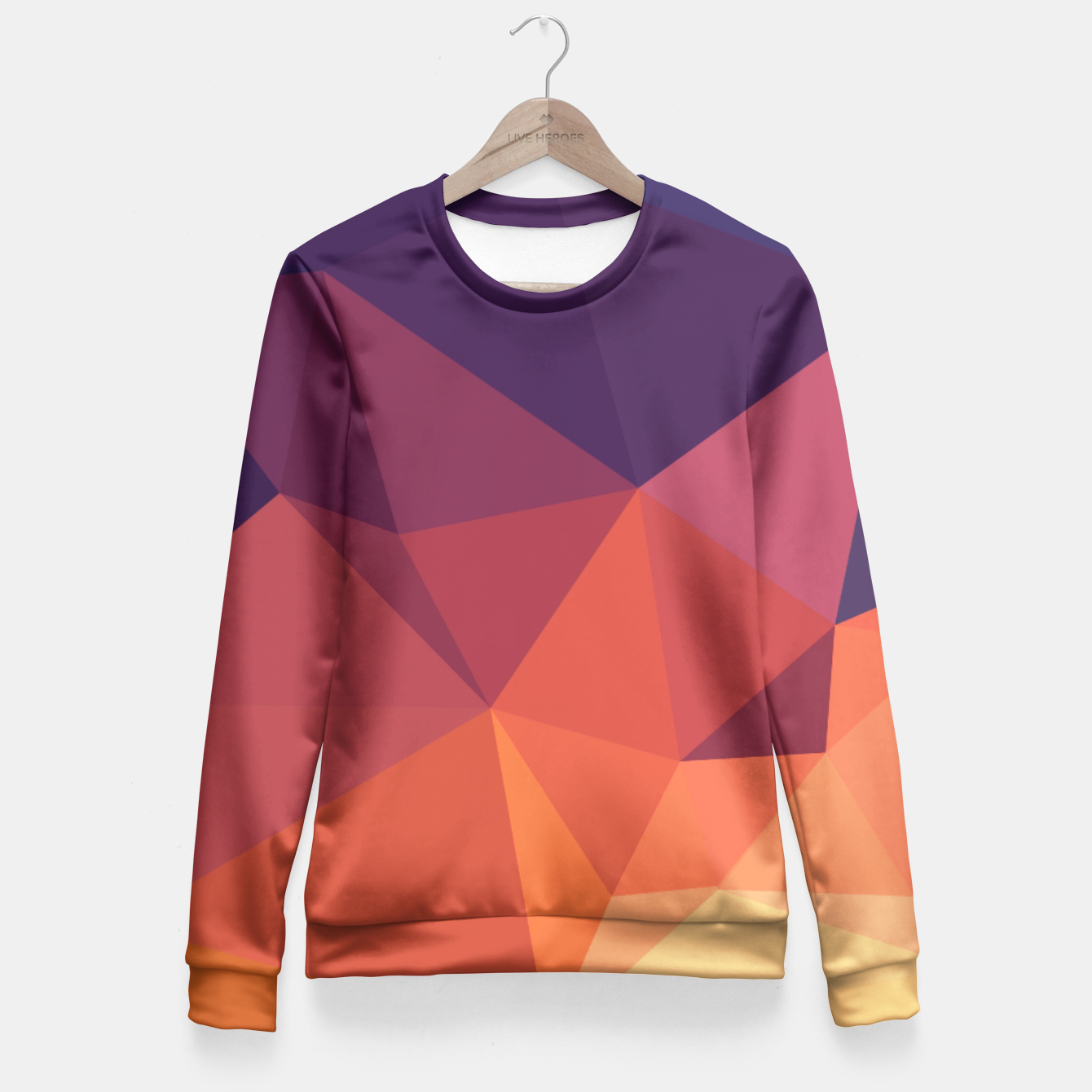 Image of Geometric BGs14 Fitted Waist Sweater - Live Heroes