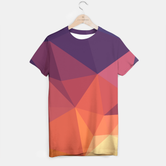 Thumbnail image of Geometric BGs14 T-shirt, Live Heroes