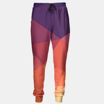 Thumbnail image of Geometric BGs14 Sweatpants, Live Heroes