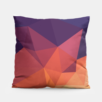 Thumbnail image of Geometric BGs14 Pillow, Live Heroes