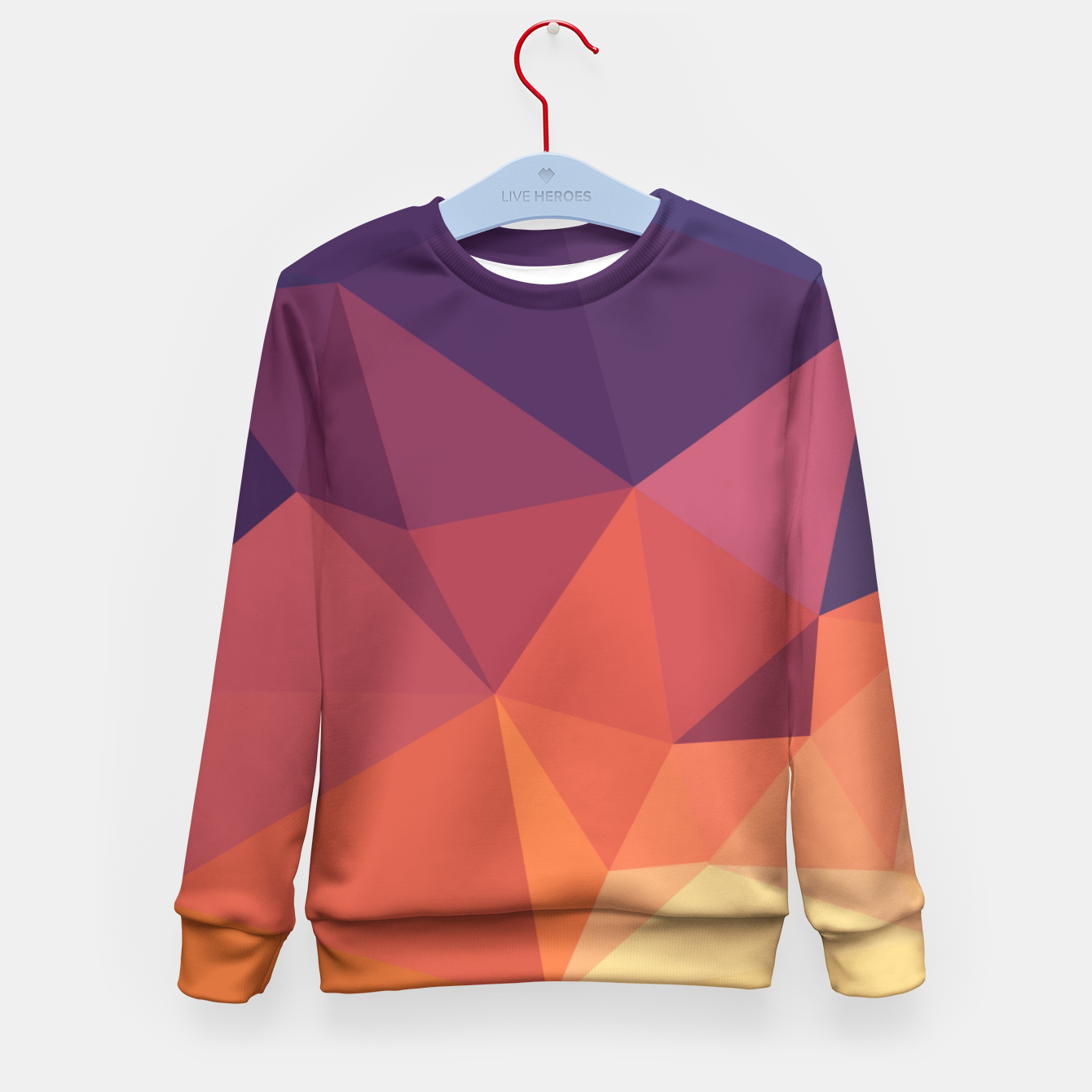 Image of Geometric BGs14 Kid's Sweater - Live Heroes