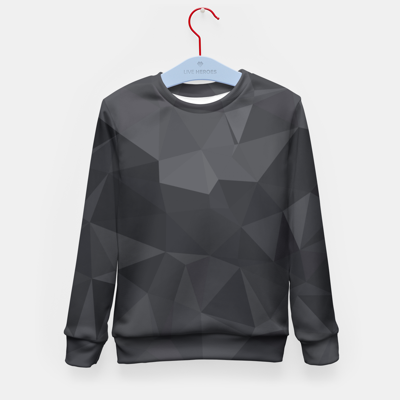 Image of Geometric BGs20 Kid's Sweater - Live Heroes