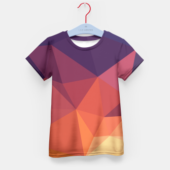 Thumbnail image of Geometric BGs14 Kid's T-shirt, Live Heroes