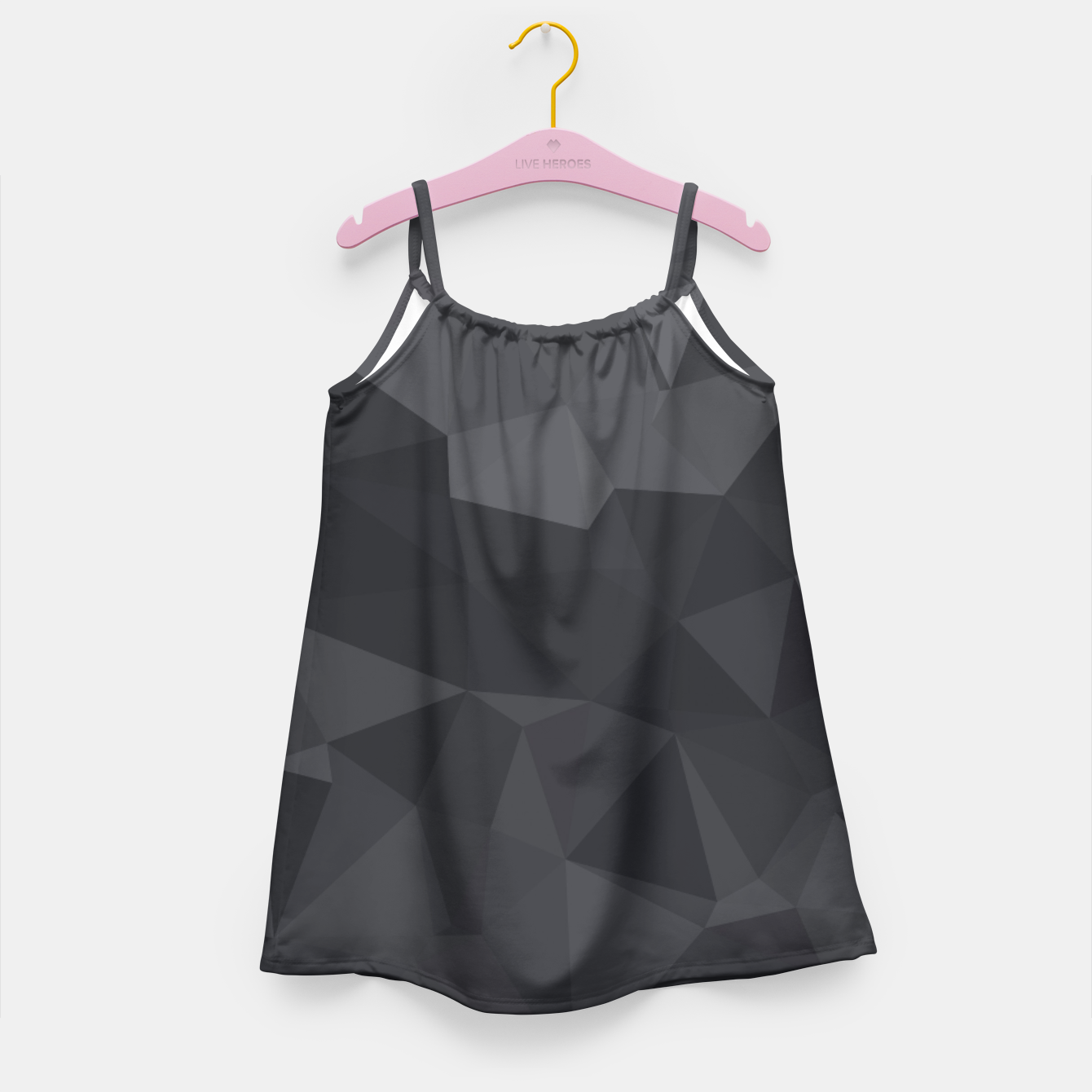 Image of Geometric BGs20 Girl's Dress - Live Heroes