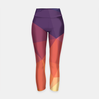 Thumbnail image of Geometric BGs14 Yoga Pants, Live Heroes