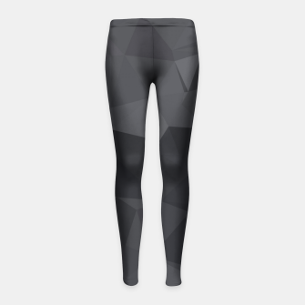 Thumbnail image of Geometric BGs20 Girl's Leggings, Live Heroes