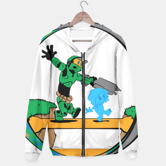 Thumbnail image of Galactic Journey Hoodie, Live Heroes