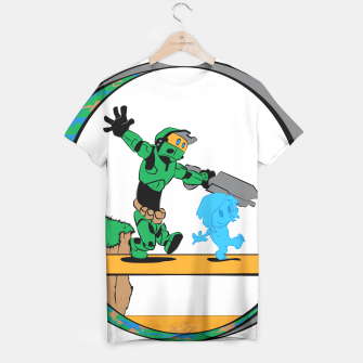 Thumbnail image of Galactic Journey T-shirt, Live Heroes