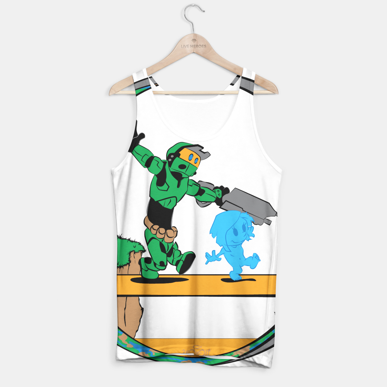 Image of Galactic Journey Tank Top - Live Heroes
