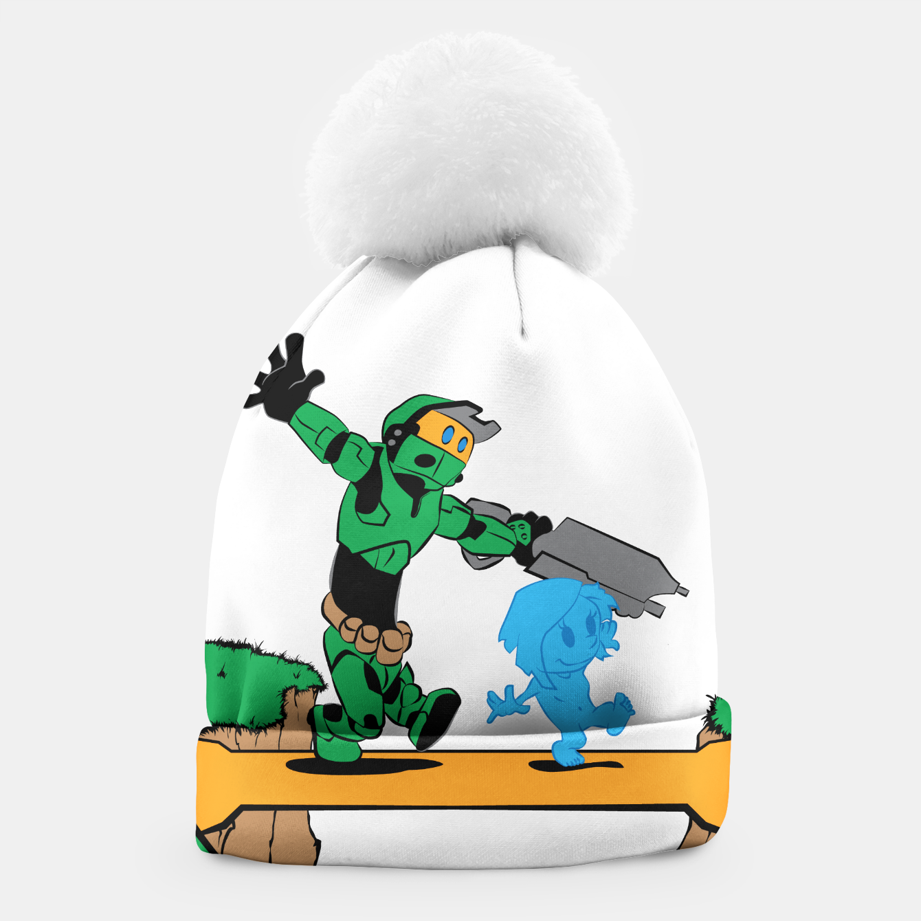 Image of Galactic Journey Beanie - Live Heroes