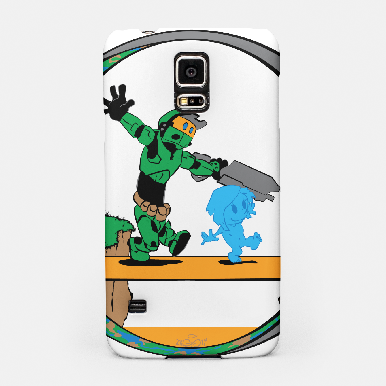 Image of Galactic Journey Samsung Case - Live Heroes