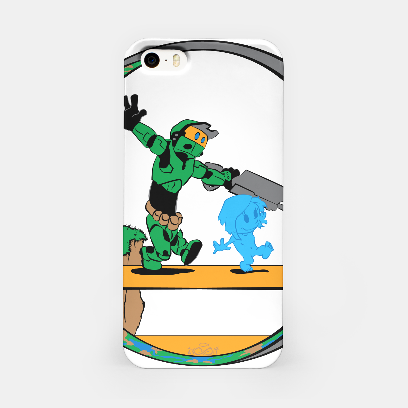 Image of Galactic Journey iPhone Case - Live Heroes