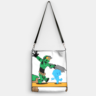 Thumbnail image of Galactic Journey Handbag, Live Heroes