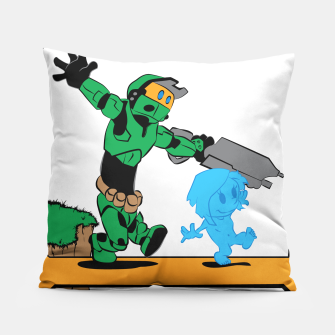Thumbnail image of Galactic Journey Pillow, Live Heroes