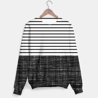 Thumbnail image of platno (black stripes) sweater, Live Heroes