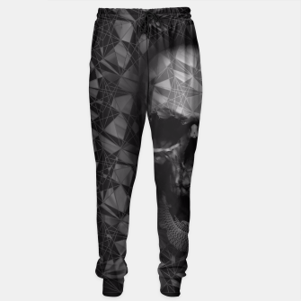 Thumbnail image of Geometric Skull Sweatpants, Live Heroes