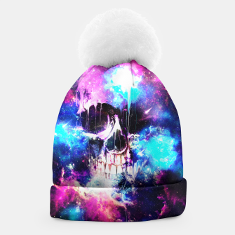 Thumbnail image of Space Skull Beanie, Live Heroes