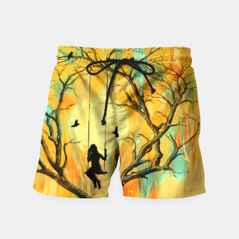 Thumbnail image of Playmate Swim Shorts, Live Heroes