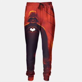 Thumbnail image of Heart Vader Sweatpants, Live Heroes