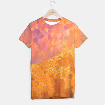 Miniatur Orange Wave T-shirt, Live Heroes