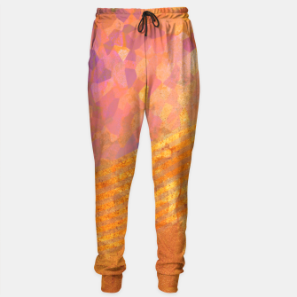Miniatur Orange Wave Sweatpants, Live Heroes