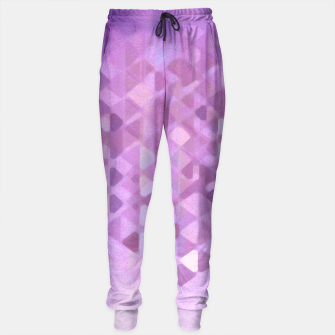 Miniatur PURPLE RAIN Cotton sweatpants, Live Heroes